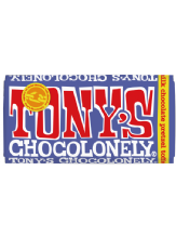 Tony's Chocolonely Dark Milk Chocolate Pretzel Toffee 180g